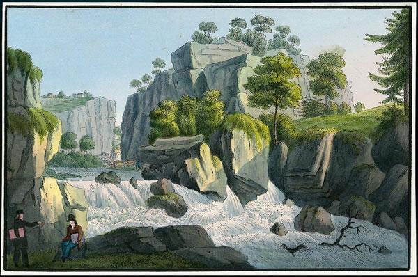 Liebethaler Grund um 1825
