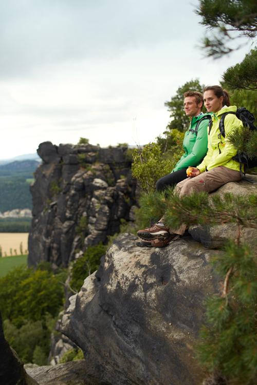 Sächsische Schweiz Aussicht