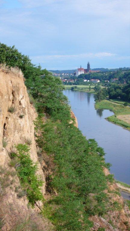 Elbe vor Meißen