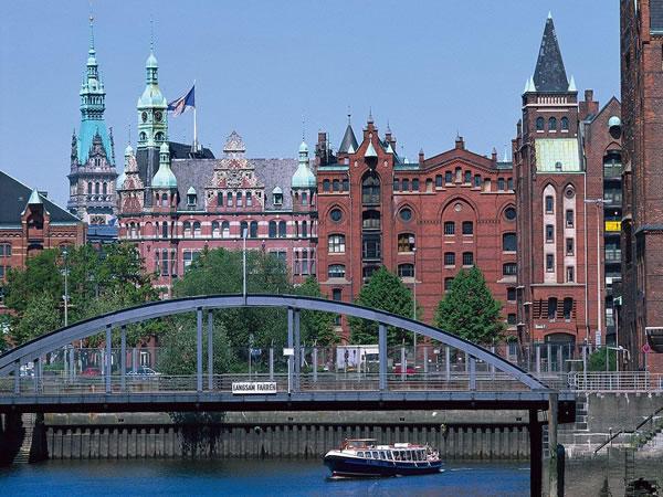 Hamburg, Speicherstadt